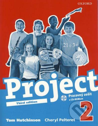 Oxford University Press Project 2 - Pracovný zošit s CD-ROMom - Tom Hutchinson, Cheryl Pelteret cena od 179 Kč