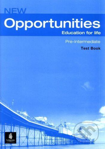 Longman New Opportunities - Pre-Intermediate - Test Book (+ Audio CD Pack) - Michael Harris cena od 204 Kč