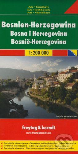 freytag&berndt Bosnien-Herzegowina 1:200 000 - cena od 190 Kč