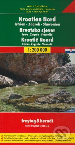 freytag&berndt Kroatien Nord 1:200 000 - cena od 190 Kč