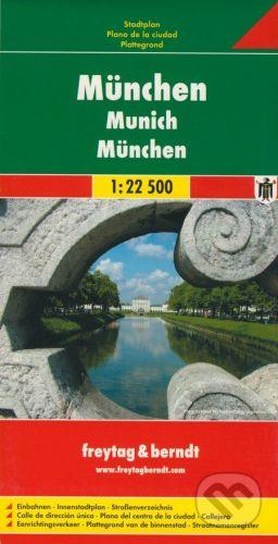 freytag&berndt München 1:22 500 - cena od 155 Kč