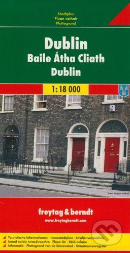 freytag&berndt Dublin 1:18 000 - cena od 23 Kč
