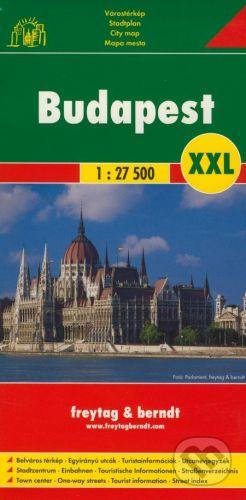 freytag&berndt Budapešť XXL 1:27 500 - cena od 155 Kč