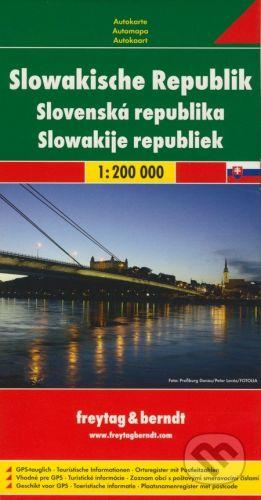 freytag&berndt Slovenská republika 1:200 000 - cena od 159 Kč