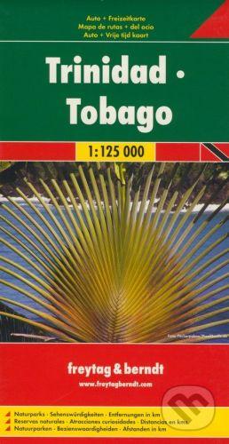 freytag&berndt Trinidad, Tobago 1:125 000 - cena od 190 Kč