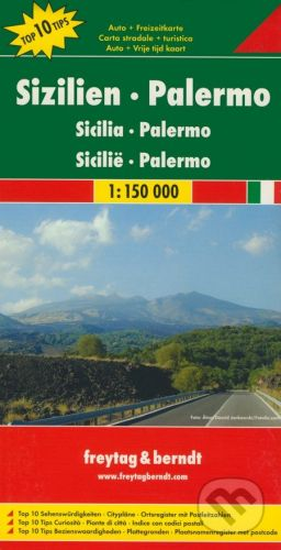 freytag&berndt Sicilia, Palermo 1:150 000 - cena od 190 Kč