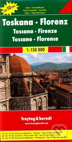 freytag&berndt Toskana, Florenz 1:150 000 - cena od 190 Kč