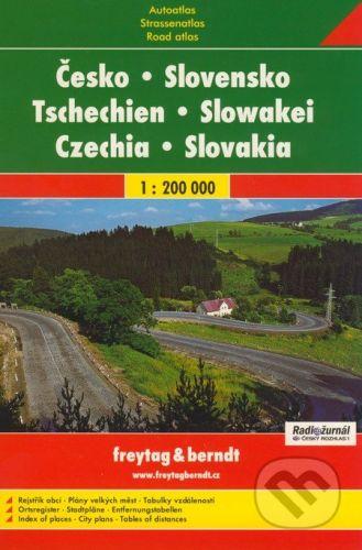 Autoatlas Česko Slovensko 1 : 200 000 cena od 211 Kč