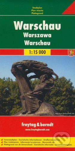 freytag&berndt Varšava 1:15 000 - cena od 155 Kč