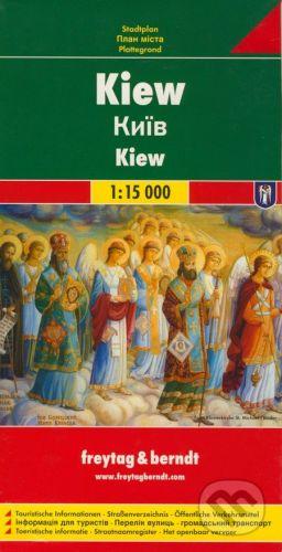 freytag&berndt Kiew 1:15 000 - cena od 155 Kč