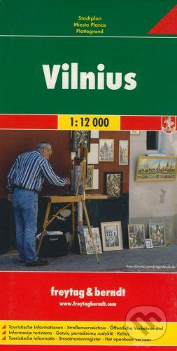 freytag&berndt Vilnius 1:12 000 - cena od 155 Kč