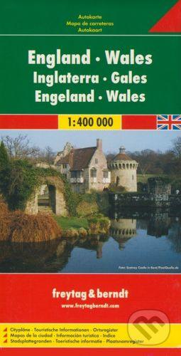 freytag&berndt England, Wales 1:400 000 - cena od 99 Kč