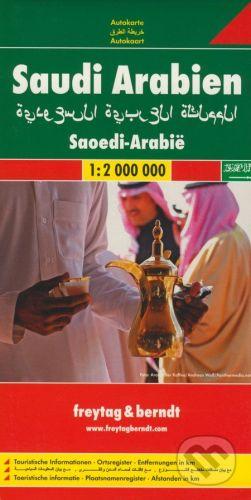 freytag&berndt Saudi Arabien 1:2 000 000 - cena od 190 Kč
