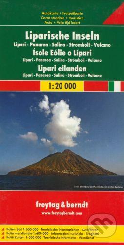 freytag&berndt Liparische Inseln 1:20 000 - cena od 190 Kč