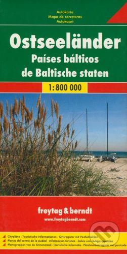 freytag&berndt Krajiny Baltského mora 1:800 000 - cena od 190 Kč