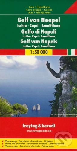 freytag&berndt Golf von Neapel 1:50 000 - cena od 190 Kč