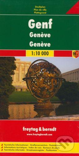 freytag&berndt Ženeva 1:10 000 - cena od 155 Kč