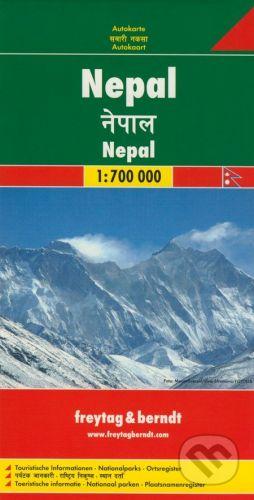 freytag&berndt Nepal 1:700 000 - cena od 205 Kč
