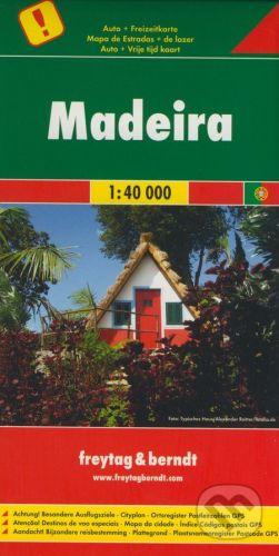 freytag&berndt Madeira 1:40 000 - cena od 165 Kč