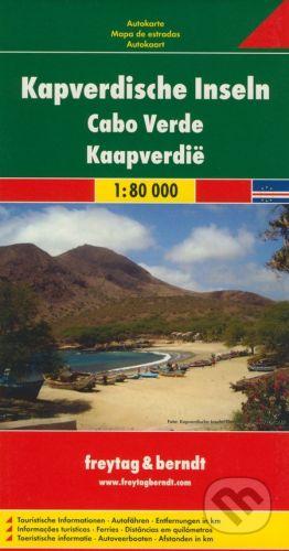 freytag&berndt Kapverdische Inseln 1:80 000 - cena od 178 Kč
