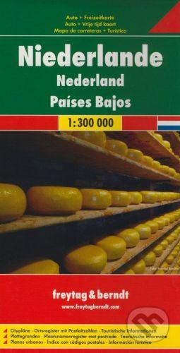 freytag&berndt Holandsko 1:300 000 - cena od 190 Kč
