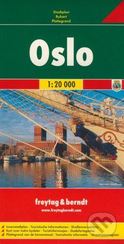 freytag&berndt Oslo 1:20 000 - cena od 155 Kč