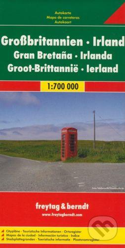 freytag&berndt Veľká Británia, Irsko 1:700 000 - cena od 160 Kč