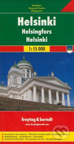 freytag&berndt Helsinki 1:15 000 - cena od 116 Kč