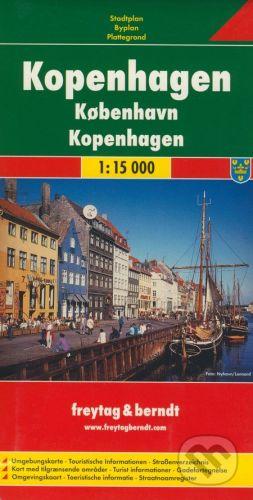 freytag&berndt Kopenhagen 1:15 000 - cena od 155 Kč
