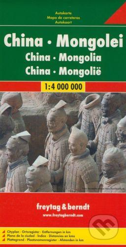 freytag&berndt Čína, Mongolsko 1:4 000 000 - cena od 190 Kč