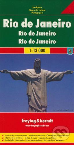 freytag&berndt Rio de Janeiro 1:13 000 - cena od 190 Kč