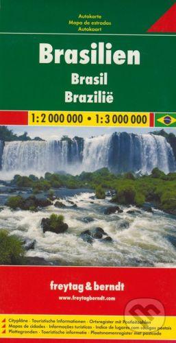 freytag&berndt Brasilien 1:2 000 000 - 1:3 000 000 - cena od 205 Kč