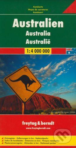 freytag&berndt Australia 1:4 000 000 - cena od 195 Kč