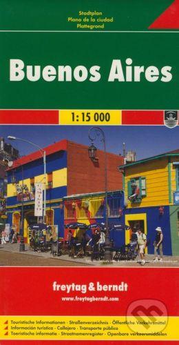 freytag&berndt Buenos Aires 1:15 000 - cena od 115 Kč