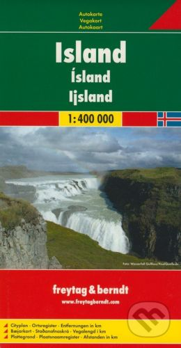 freytag&berndt Island 1:400 000 - cena od 190 Kč