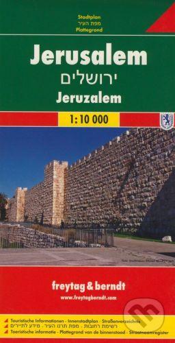 freytag&berndt Jerusalem 1:10 000 - cena od 155 Kč
