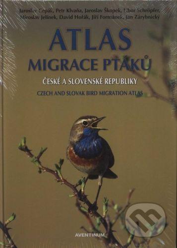 Atlas migrace ptáků české a slovenské republiky cena od 422 Kč