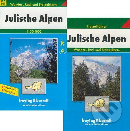 freytag&berndt Julische Alpen 1:50 000 - cena od 179 Kč