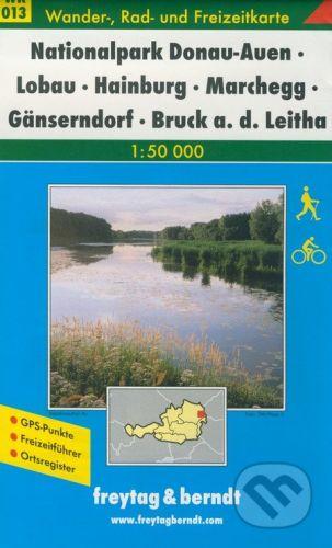 freytag&berndt Nationalpark Donau-Auen, Lobau, Hainburg, Marchegg, Gänserndorf, Bruck a. d. Leitha - cena od 181 Kč