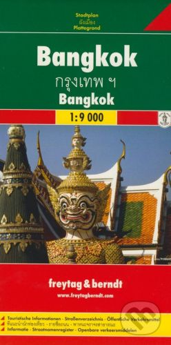 freytag&berndt Bangkok 1:9000 - cena od 155 Kč
