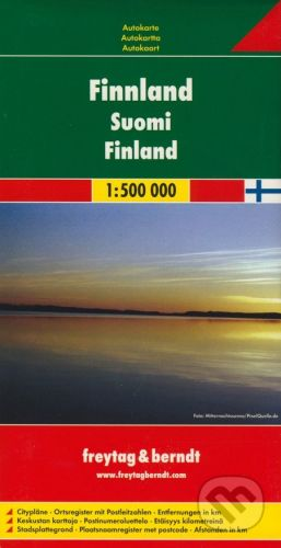 freytag&berndt Finland 1:500 000 - cena od 190 Kč