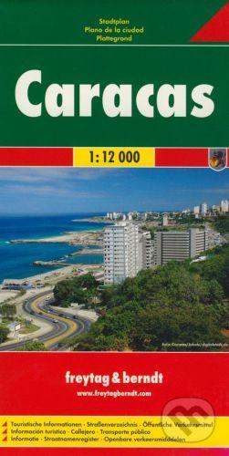 freytag&berndt Caracas 1:12 000 - cena od 155 Kč