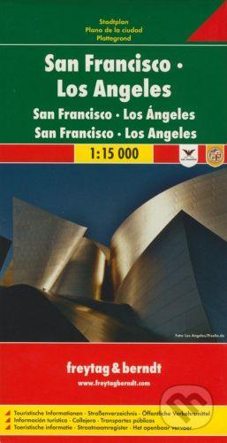 freytag&berndt San Francisco, Los Angeles - cena od 159 Kč