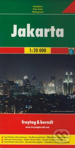 freytag&berndt Jakarta 1:20 000 - cena od 155 Kč