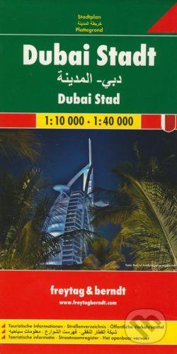 freytag&berndt Dubai Stadt 1:10 000 - 1:40 000 - cena od 159 Kč