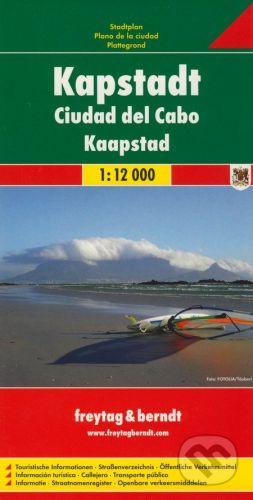 freytag&berndt Kapstadt 1:12 000 - cena od 152 Kč