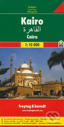 freytag&berndt Kairo 1:10 000 - cena od 155 Kč
