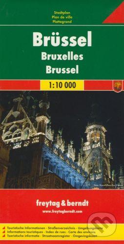 freytag&berndt Brüssel 1:10 000 - cena od 159 Kč