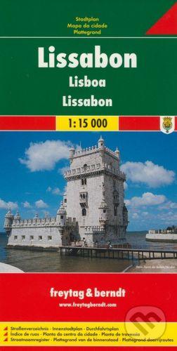 freytag&berndt Lissabon 1:15 000 - cena od 155 Kč