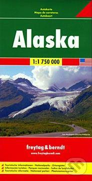 freytag&berndt Alaska (Aljaška) 1:1 750 000 - cena od 180 Kč